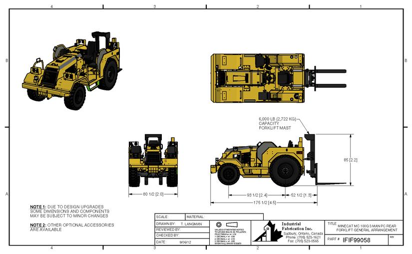 MC150-Forklift Konfigurasyonlari