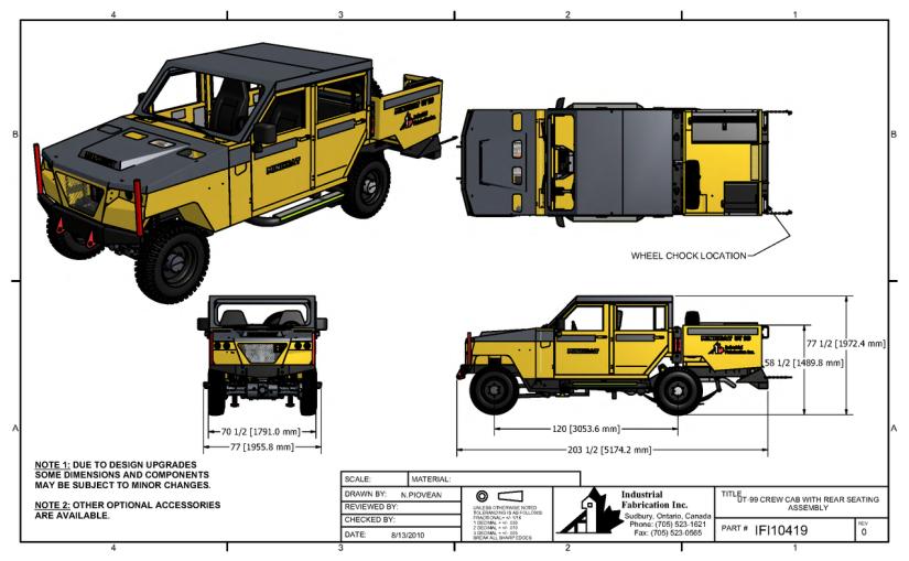 UT150-Personel Tasiyici Kabinli Konfigurasyonlari