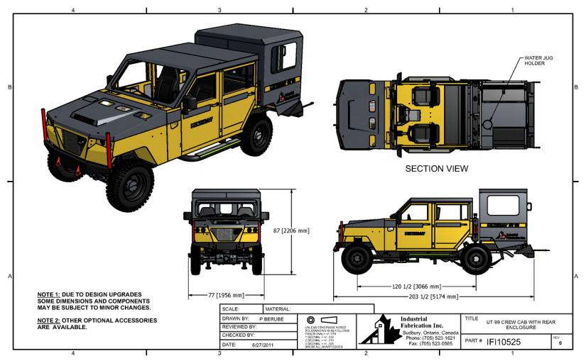 UT99-Arka Muhafaza Kabinli Konfigurasyonlari